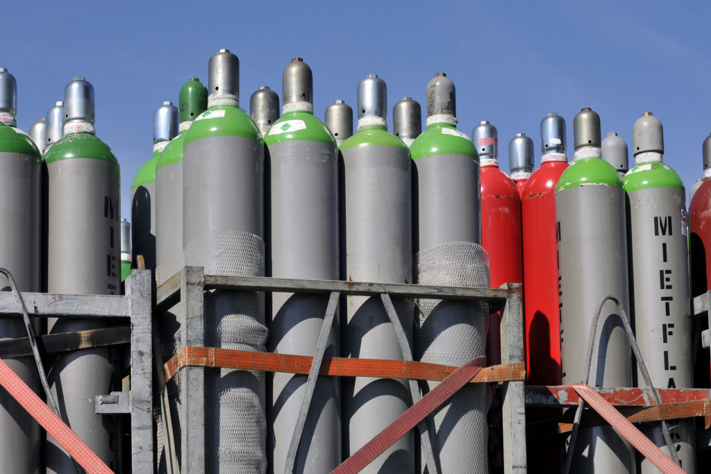Technische Gase bei Stegner