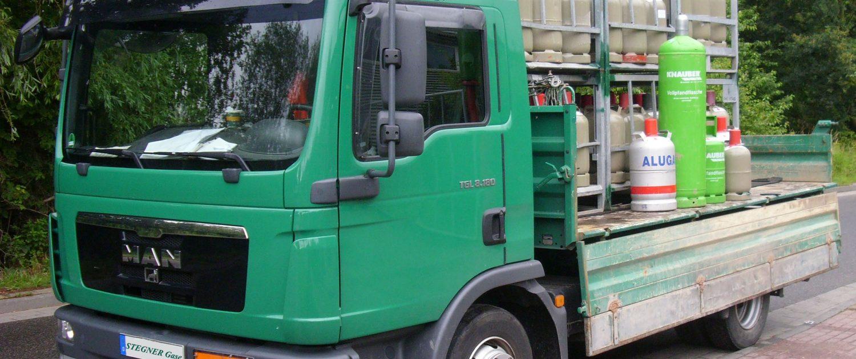 LKW bereit zur Auslieferung