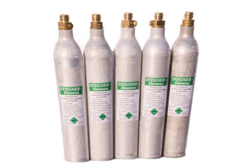Stegner Gase Kohlensäure Zylinder